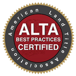 Mosley Title Company, LLC is certified in ALTA Best Practices