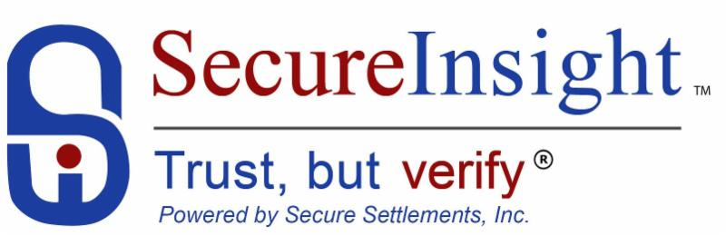 We are proud to be a vetted agent in the Secure Insight nationwide vendor database.